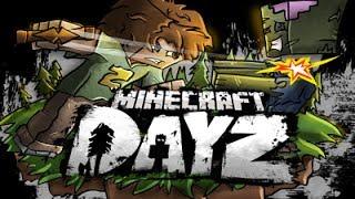 Minecraft DayZ приключения-6 Военная база.