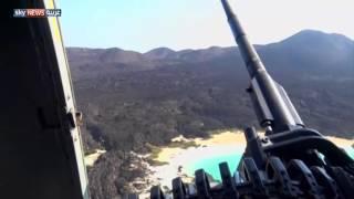 التحالف يطهر جزيرة حنيش الكبرى من الحوثيين