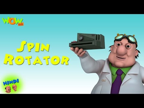 Spin Rotator - Motu Patlu in Hindi WITH ENGLISH, SPANISH & FRENCH SUBTITLES thumbnail