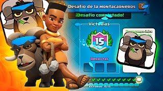 NO PIERDO UNA PARTIDA CON EL MONTACARNEROS ¡¡15-0!! Clash Royale