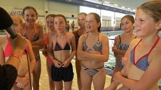 Zeskamp bij jubileum zwembad Panningen