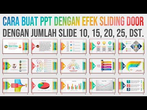 Cara Buat PPT Efek Sliding dengan Jumlah Slide Banyak