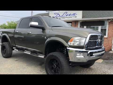 2012 Dodge Ram Cummins lifted at dlux motorsports lifted trucks virginia