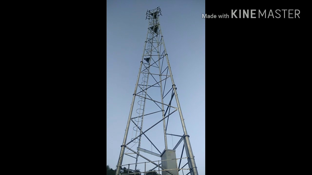 reliance jio 4g mobile tower installation [ 1280 x 720 Pixel ]