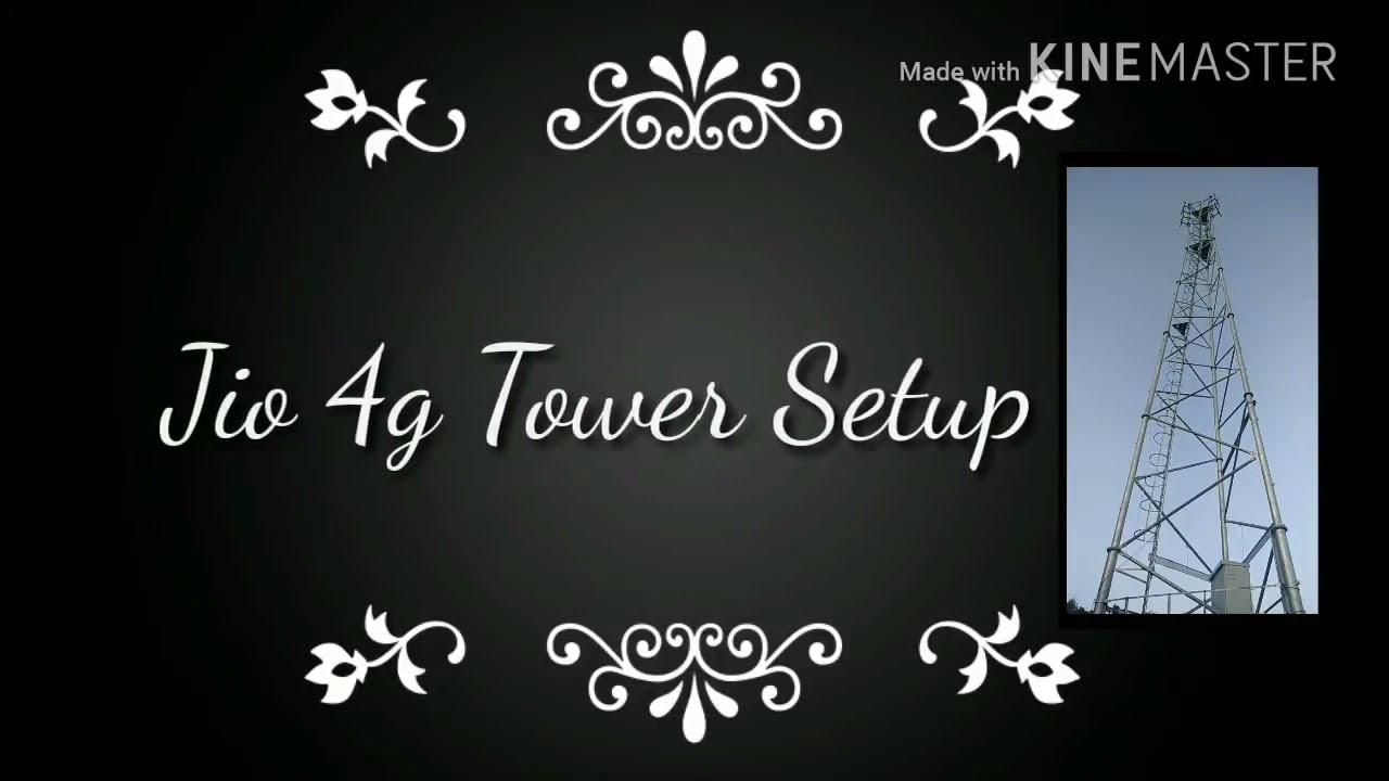 medium resolution of reliance jio 4g mobile tower installation
