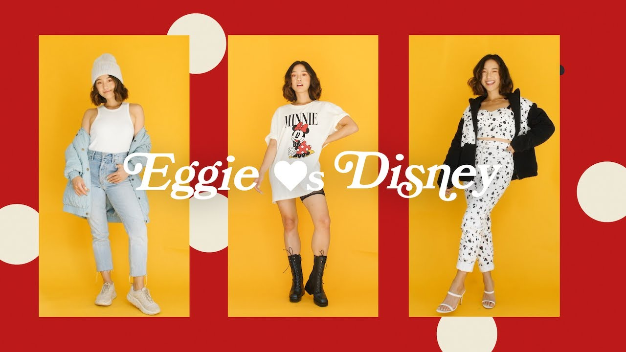 Eggie ❤s Disney Collection | Cozy Fall Outfits