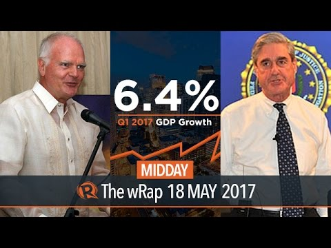EU and PH, GDP growth, Mueller | Midday wRap