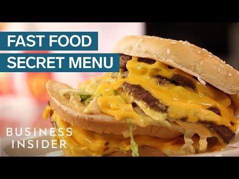 Best Fast Food Secret Menu Items