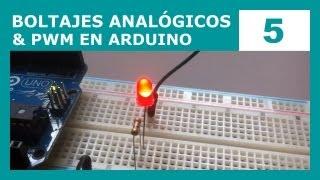 Curso de Arduino 5: Voltajes analógicos y PWM