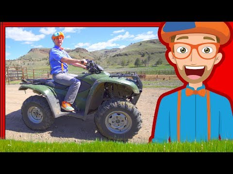 Thumbnail: Blippi on the Ranch with Horses | and More Videos 1 HOUR!