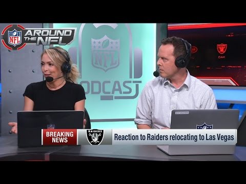 Reaction to the Raiders Move to Las Vegas | Around the NFL | NFL Network