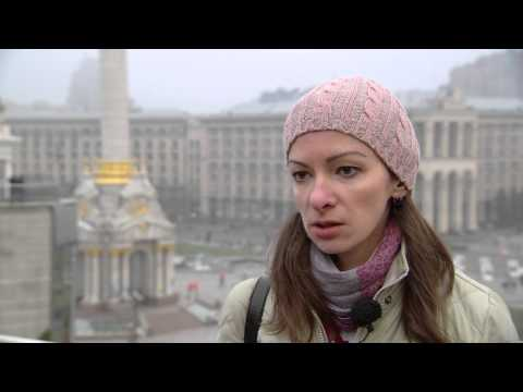 Portraits from Maidan Square - Kristina Berdynskykh, Occupation: Journalist