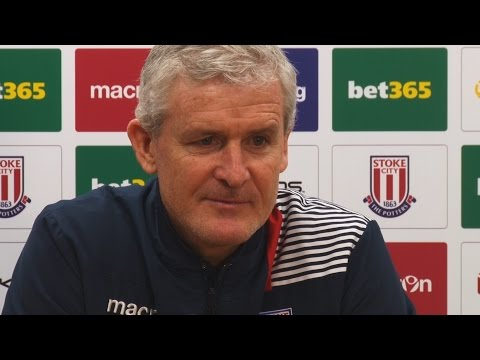 Mark Hughes' pre-Leicester City press conference