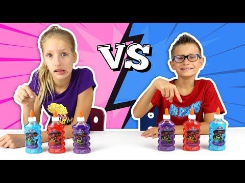 twin-telepathy-slime-challenge!!!