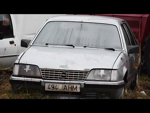 1984 Opel Senator A2 2.0 Cold Start After 7 Years (1080p)