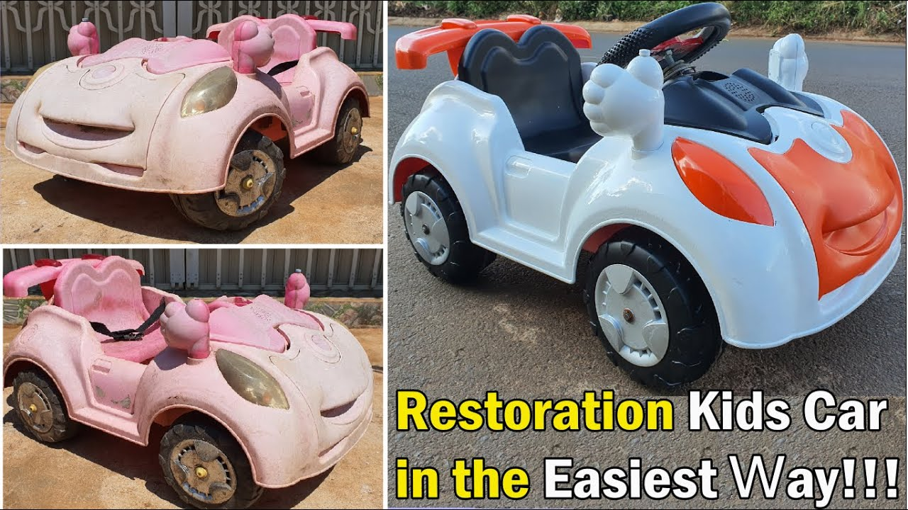 Restoration Kids Car in the Easiest Way