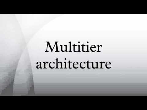 Multitier architecture