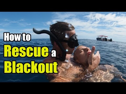 How to Rescue a Blackout: Essential for all Divers and Watermen