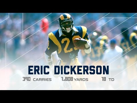 Eric Dickerson Rookie Season Highlights | NFL