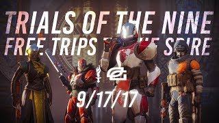 Destiny 2: TRIALS OF THE NINE WITH VIEWERS