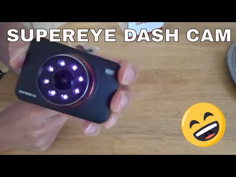 Supereye Dash Cam Review | Night Vision Car Camera