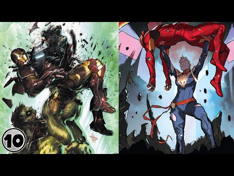 Top 10 Times The Avengers Killed Tony Stark