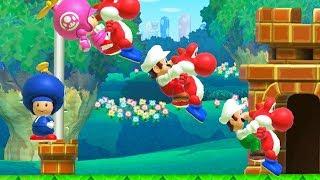 Cooperative Mario Maker In a Nutshell