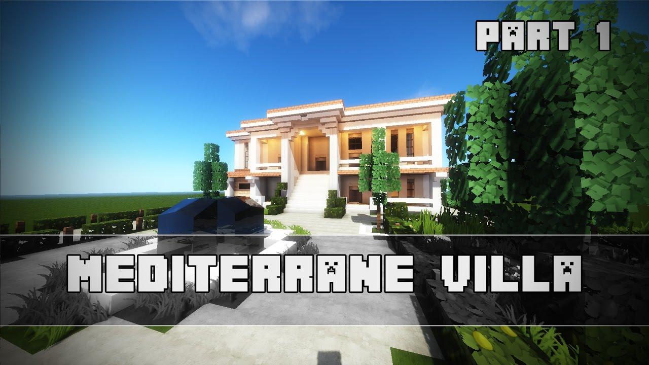 mediterrane villa in minecraft bauen minecraft let s build youtube. Black Bedroom Furniture Sets. Home Design Ideas
