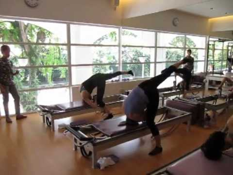 True Pilates Singapore - Balance Control & Dismount on the Reformer