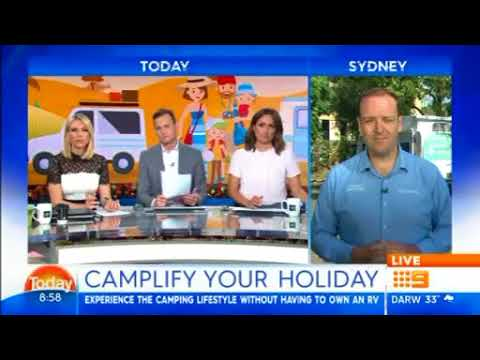 Camplify Australia On Today Show Broadcast