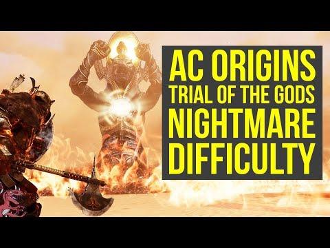 Assassin's Creed Origins Trial of the Gods FINALLY A CHALLENGE?! NIGHTMARE MODE (AC Origins)