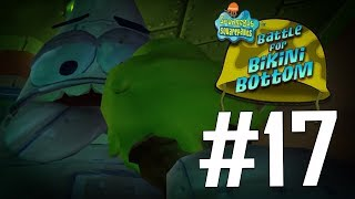 Robo Patrick?! BOSS BATTLE!!   SpongeBob SquarePants: Battle for Bikini Bottom - PART 17
