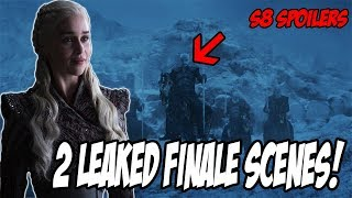 2 LEAKED Final Scenes! Game Of Thrones Season 8 (Leaked Scenes)