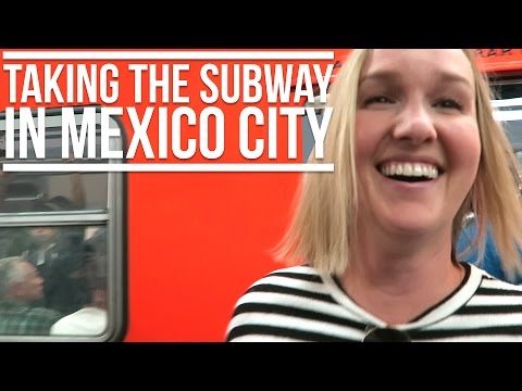 TAKING THE SUBWAY IN MEXICO CITY + A DAY IN POLANCO | Eileen Aldis