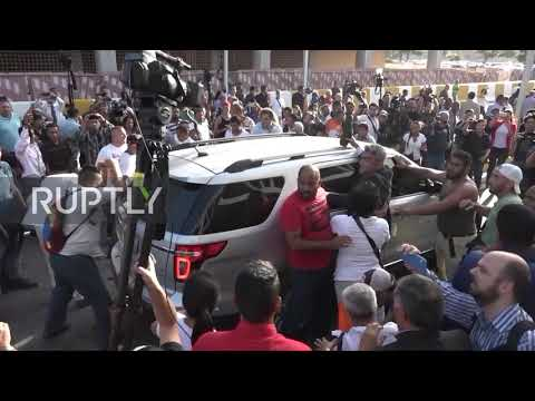 Venezuela: Scuffles erupt in Caracas airport as Guaido returns from tour in Europe and US