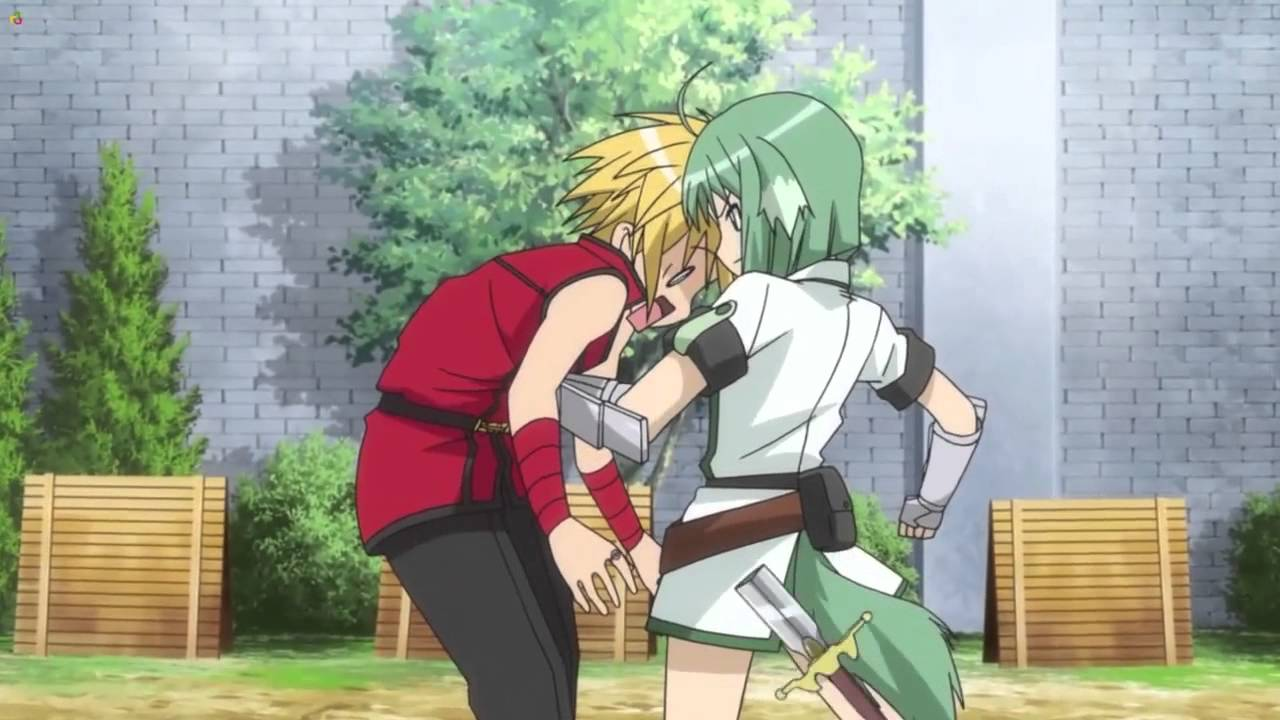 Dog Days Funny Anime Moment Dont Touch Eclairs Forehead XD