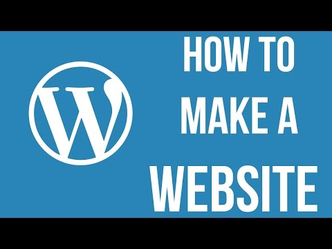 How to Make a Website in 2 hours with WordPress without Coding