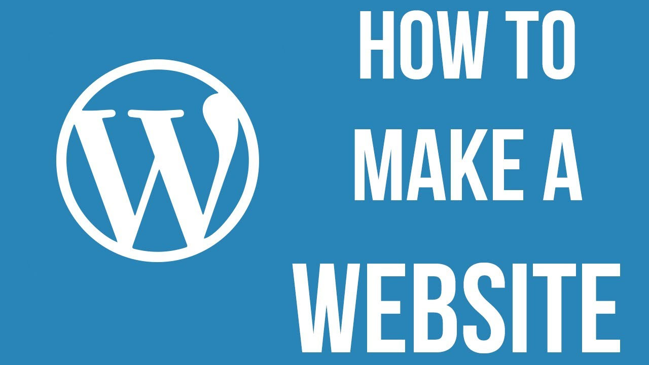 how to create a wordpress website without a domain