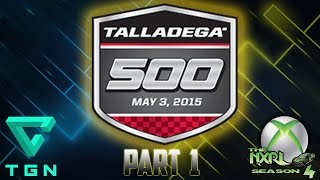 NASCAR 14 : NXRL SEASON 4 - Talladega 500 at Talladega PART 1
