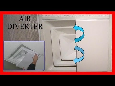 Item 4873 Ceiling Air Diverter Block Ceiling Drafts Youtube