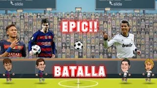 Barcelona VS real Madrid 2016|Football Legends 2016|(con mi hermano)