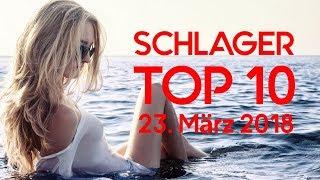 SCHLAGER CHARTS TOP 10 - Die Hits vom 23. März 2018