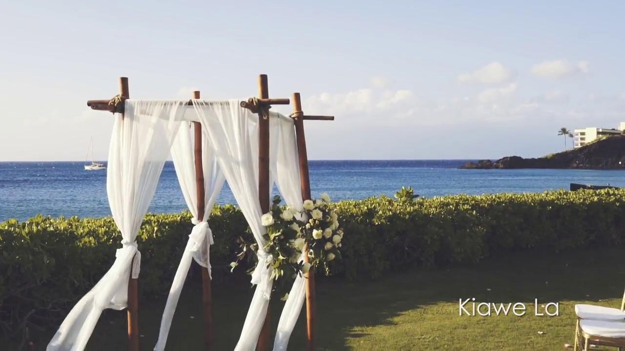 Kāʻanapali Beach Hotel Wedding Kaanapali