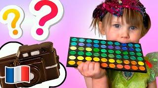 Cinq Enfants Histoire de  un défi chocolat pour enfants Stefy