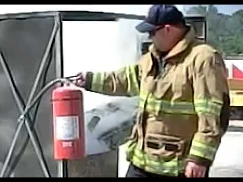 Fire Extinguisher Slo-mo - 480fps