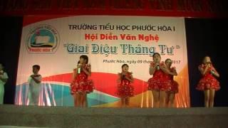 Trưởng Tiểu học Phước Hòa 1 - Em yêu tổ quốc Việt Nam - Lớp 3/2