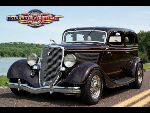 1934 Ford 4 Door Sedan Street Rod Sold Youtube