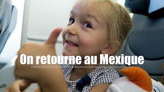 23h de voyage avec les enfants pour rentrer au Mexique 🏖☀️🇲🇽 [ VLOG Family Coste]