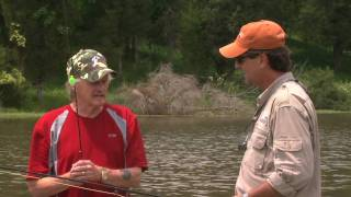 Earl Pitts and Gary Burbank fishing with Kentucky Afield