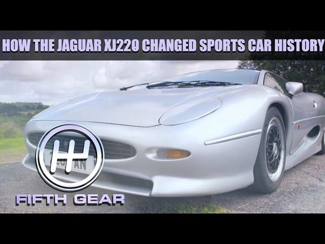 How the Jaguar XJ220 changed sports car history   Fifth Gear